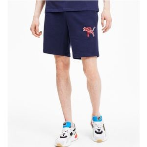 PUMA Athletic Men's Shorts Navy Size XL NWT